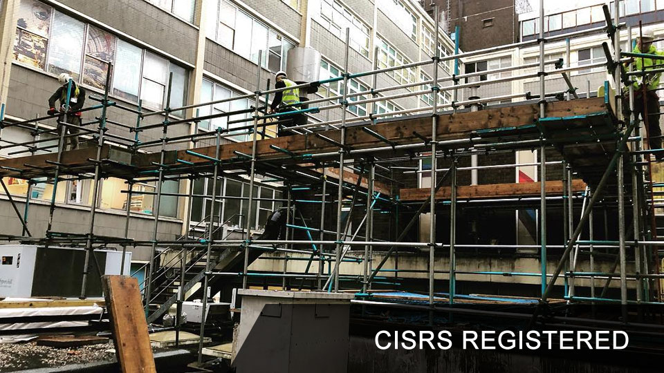 High-Tek Scaffolding Ltd are CISRS Registered Bournemouth Poole Wimborne New Forest Southampton Dorset and Hampshire