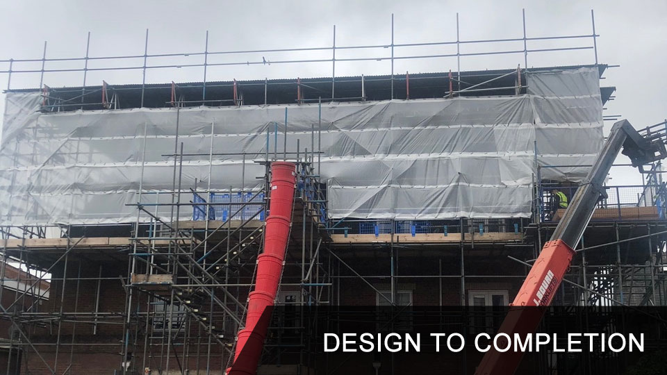Scaffolding Service Design to Completion Bournemouth Poole Wimborne New Forest Southampton Dorset and Hampshire