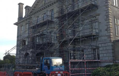 Historical Scaffolding Portfolio - Kingston Lacy