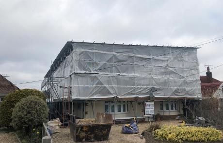 Temporary Roof Portfolio - Photo