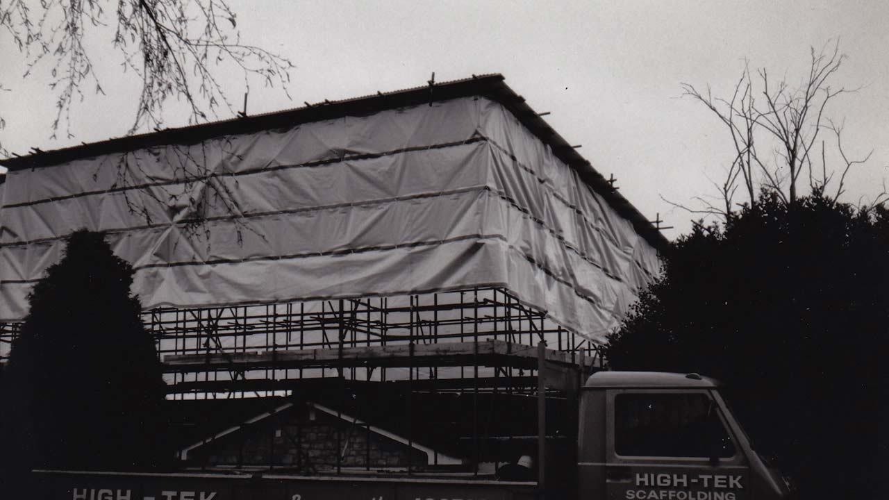 History Photo of High-Tek Scaffolding Ltd