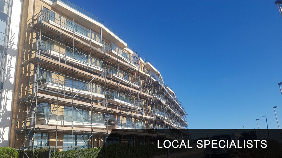 Local Scaffolding Specialists Bournemouth Poole Wimborne New Forest Southampton Dorset and Hampshire